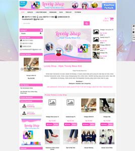 Paket Toko Online - www.hijabpunya.com