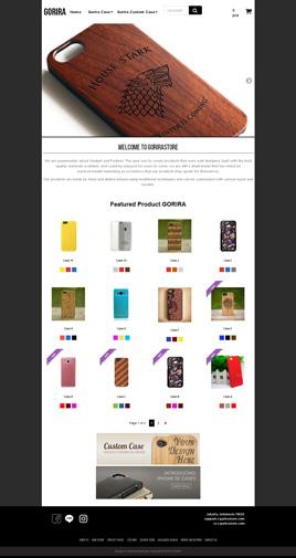 Paket Toko Online Custom - www.gorirastore.com