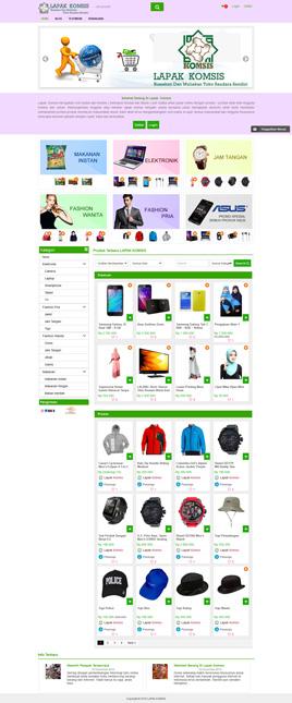 Paket Marketplace - www.lapakkomsis.com
