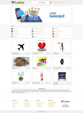 Paket Marketplace Custom - www.lariez.com