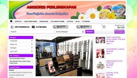 Jasa web toko online