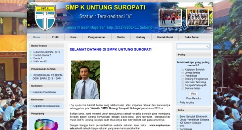 Website Sekolah Murah