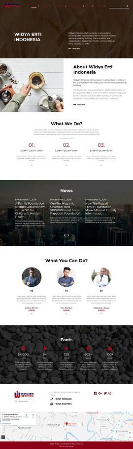 Contoh desain website company profile - www.widyaertiindonesia.org