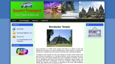 Jasa Pembuatan Website untuk Travel