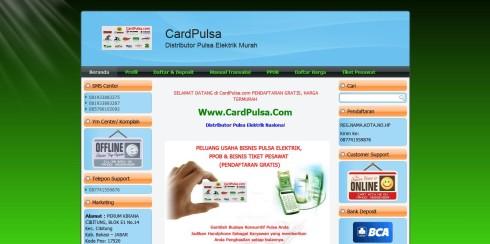 Jasa Bikin Website Pulsa 3
