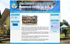 Contoh desain website sekolah - www.sman2bulukumba.sch.id