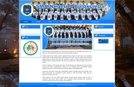 Contoh desain website - www.sman4bulukumba.sch.id