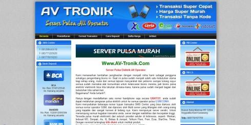 Jasa Bikin Website Pulsa 2