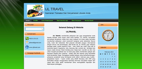 web profile travel
