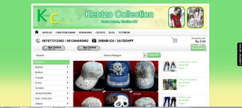 www.kentzocollection.com
