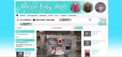 www.repsonbabyshop.com