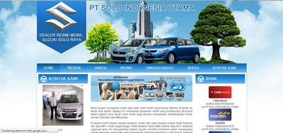 www.dealersuzukisolo.net Sudah Jadi