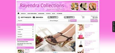 www.rayendra-collections.com Sudah Jadi