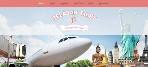 www.jelajahtiket.com Sudah Jadi