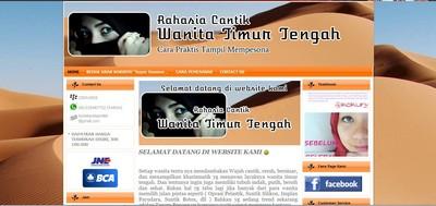 www.kecantikantimurtengah.com Sudah Jadi