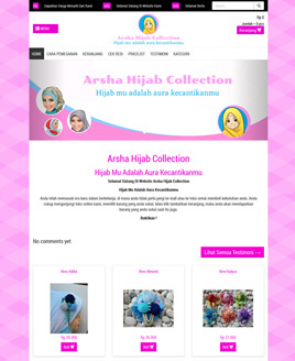 www.arshahijabcollection.com