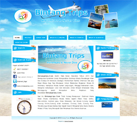 contoh web tour travel velocity developer