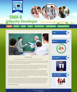 sekolah8.velocitydeveloper.com