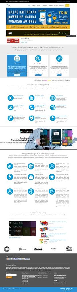 Contoh Website Server Pulsa