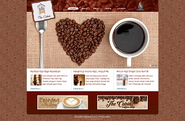 contoh web restoran coffee shop