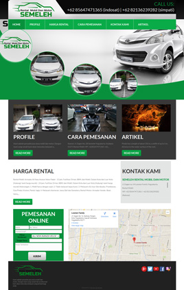semeleh rent car