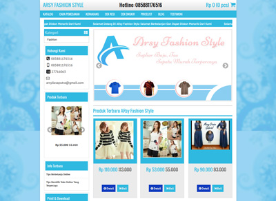 website arsy fashion style