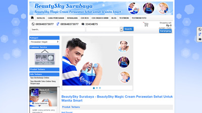 website beauty sky surabaya