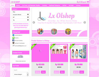website lx shop