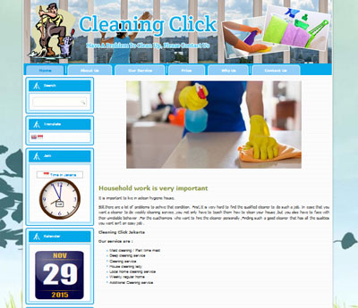 WEBSOTE-CLEANINGCLIK
