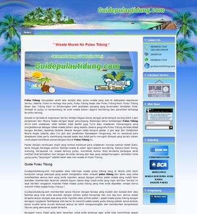 website-guidepulautifung
