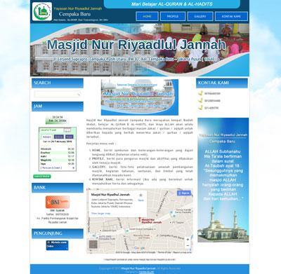 website-masjidnuri