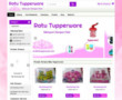 Website www.ratutupperware.com Sudah jadi