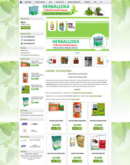 website-herbaloka