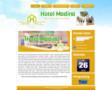 Website www.hotelmadina.com Sudah jadi