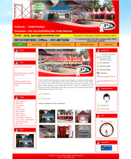 website-cv-panji-agung