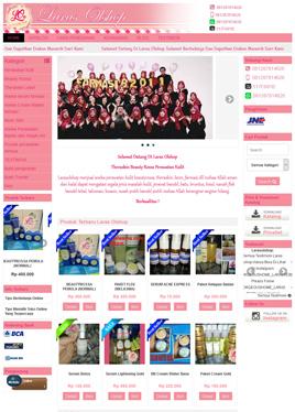 website-larasolshop