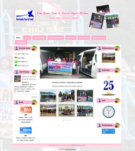 website Kim hana tour & travel