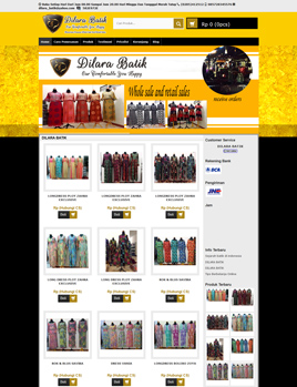 website-dilara-batik