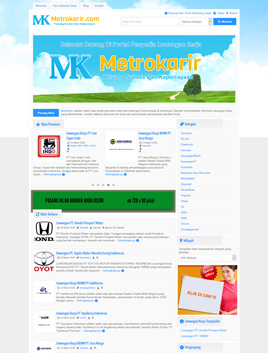 website-metrokarir