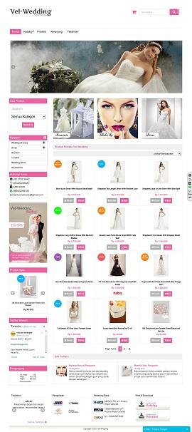 Contoh Desain Toko Online