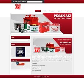 Contoh Desain Website Bali