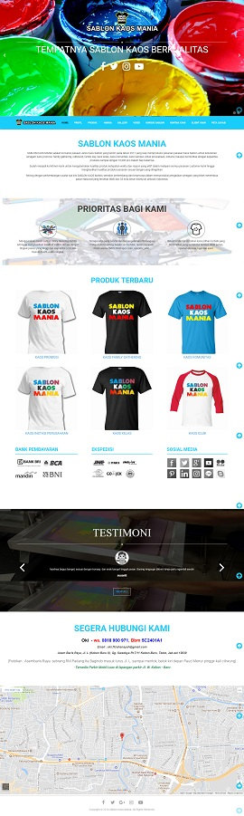 Contoh Website Ecommerce