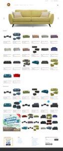 Contoh Website Toko Online Sofa