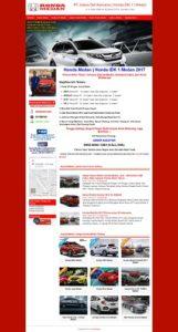 Contoh Desain Website di Medan