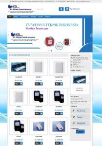 Contoh Desain Onlineshop Jual Alat Teknik