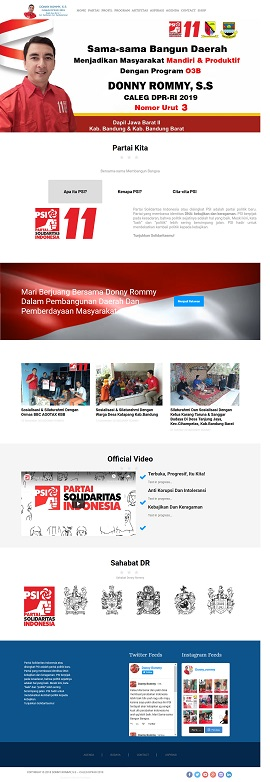 contoh desain web bandung