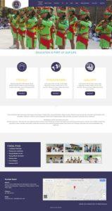contoh desain website profesional