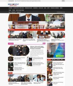 Contoh website portal berita dari surabaya