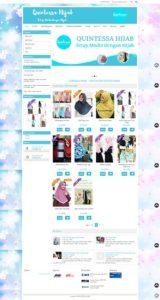 Contoh Desain Online Shop