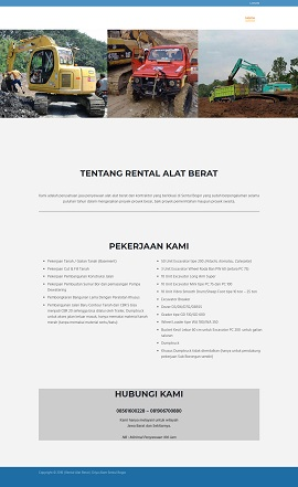 Contoh Desain Web Bogor